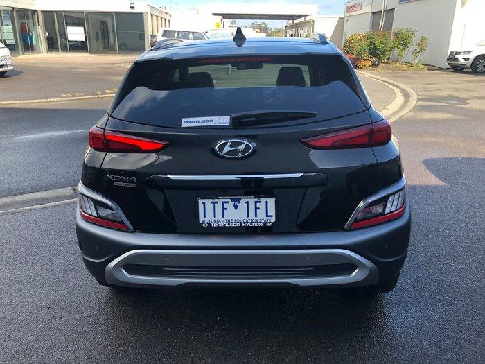 2021 Hyundai Kona Highlander OS.V4 MY21 Black