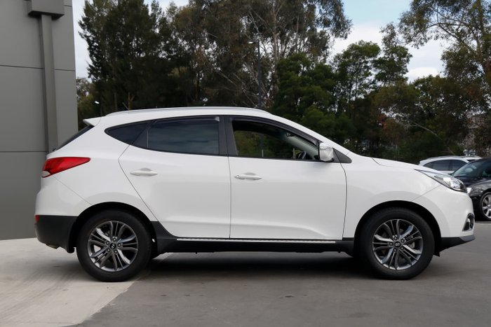 2014 Hyundai ix35 Trophy Series II Creamy White