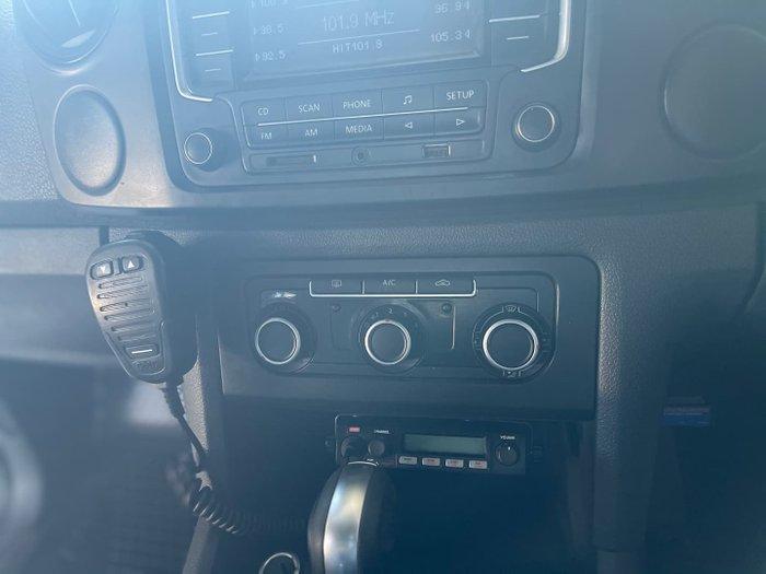 2015 Volkswagen Amarok TDI420 2H MY15 4X4 Constant Candy White