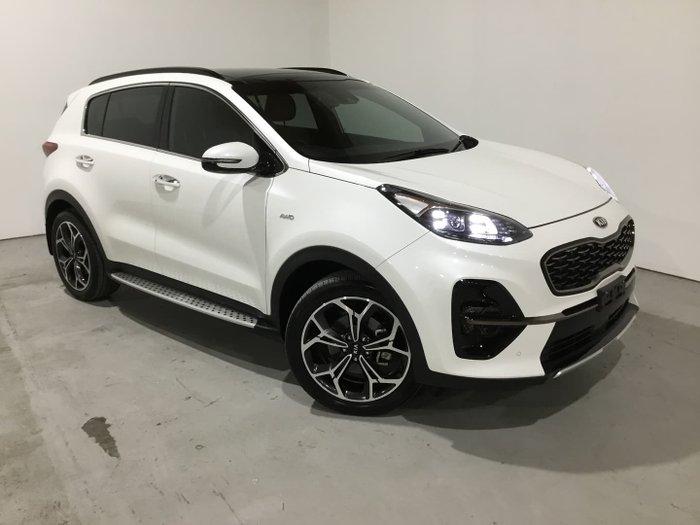 2018 Kia Sportage GT-Line QL MY19 AWD Clear White