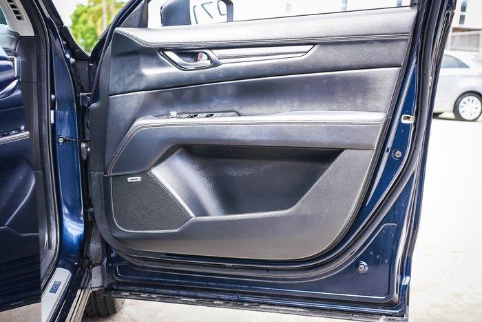 2021 MAZDA CX-5 2018 MAZDA CX-5 AKERA (4x4) (5YR) AUTO 4D WAGON 4CYL Blue