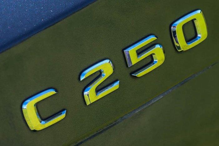 2012 Mercedes-Benz C-Class C250 BlueEFFICIENCY C204 Silver