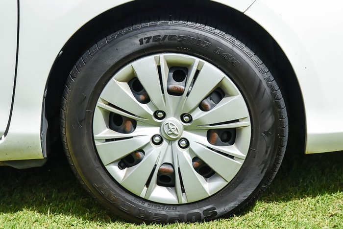 2015 Toyota Yaris SX NCP131R White