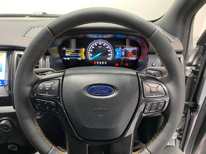 2021 Ford Ranger Wildtrak PX MkIII MY21.75 4X4 Dual Range Silver