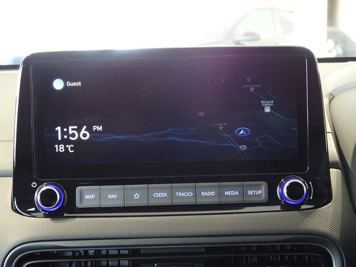 2021 Hyundai Kona Elite OS.V4 MY21 Blue