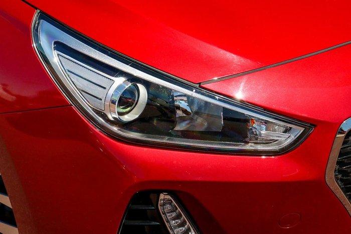 2017 Hyundai i30 Active PD MY18 Red