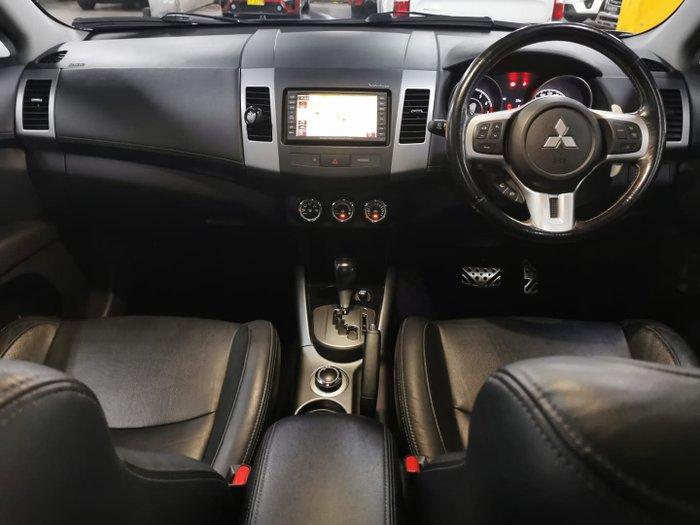 2012 Mitsubishi Outlander VR-X ZH MY12 4X4 On Demand Effect Grey
