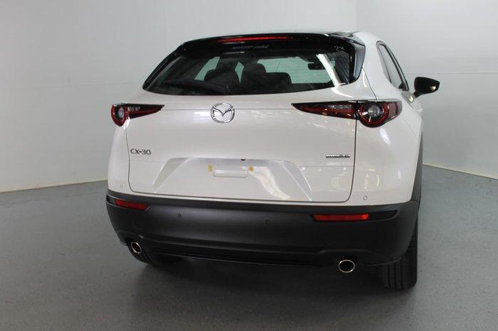 2021 Mazda CX-30 G25 Touring DM Series Snowflake White Pearl