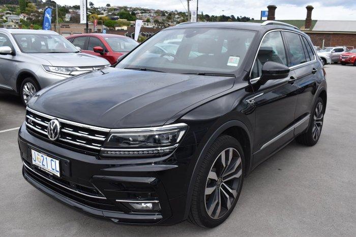2020 Volkswagen Tiguan 162TSI Highline 5N MY20 Four Wheel Drive Deep Black