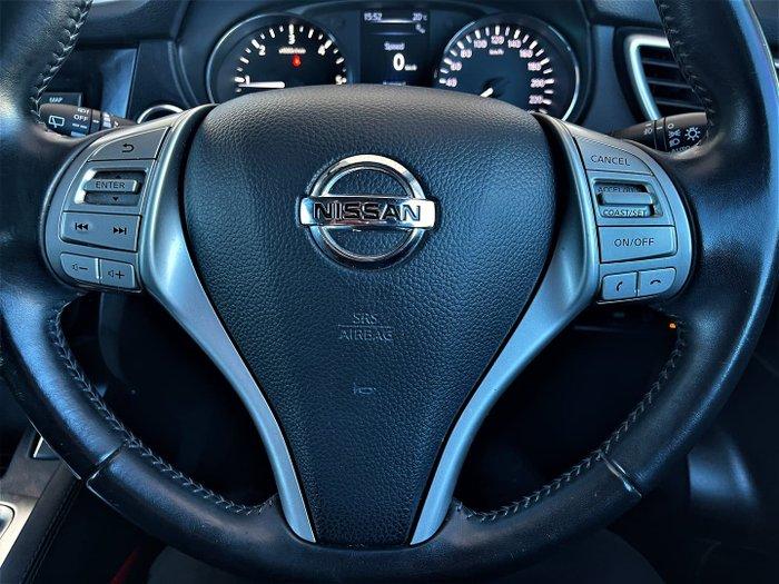 2014 Nissan QASHQAI TL J11 Magnetic Red