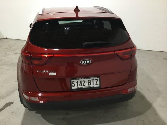 2017 Kia Sportage AO Edition QL MY18 Fiery Red