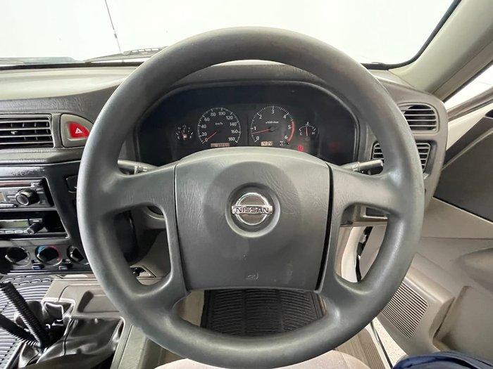 2003 Nissan Patrol ST GU II 4X4 Dual Range White