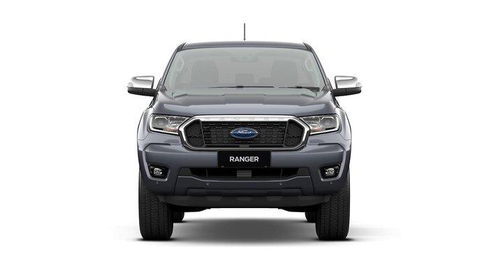 2020 Ford Ranger XLT PX MkIII MY21.25 4X4 Dual Range Grey