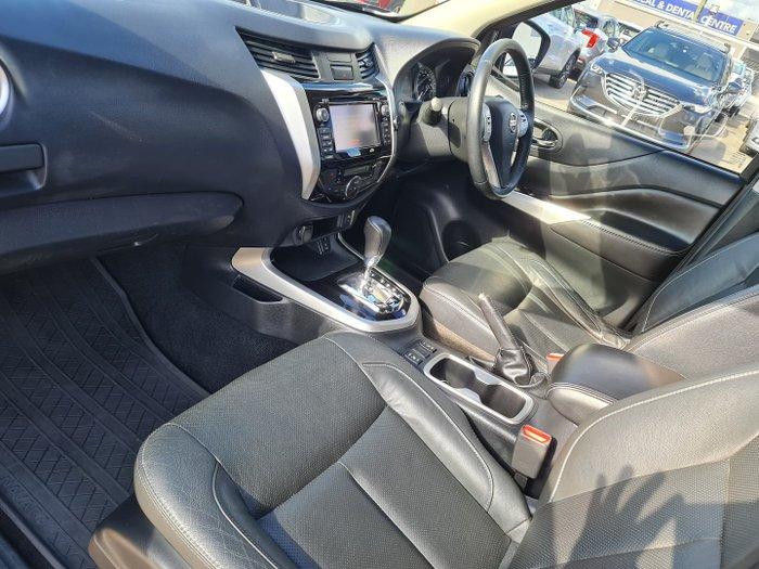 2017 Nissan Navara ST-X D23 Series 2 Cosmic Black