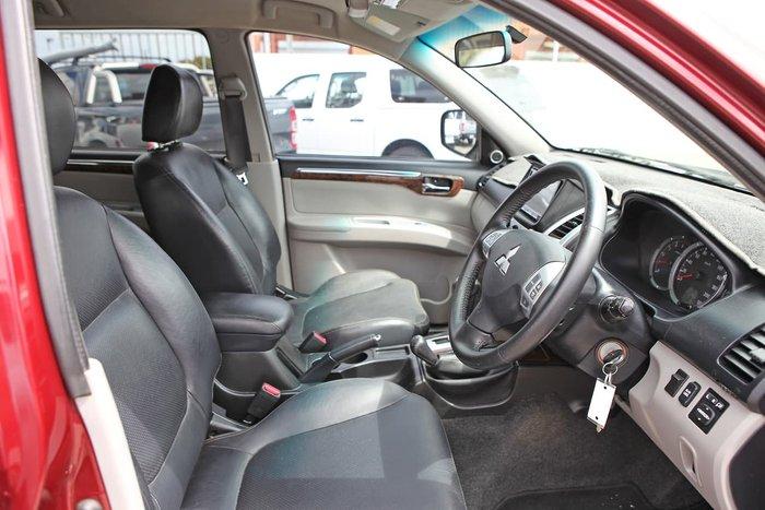 2010 Mitsubishi Challenger XLS PB MY10 4X4 Dual Range Red