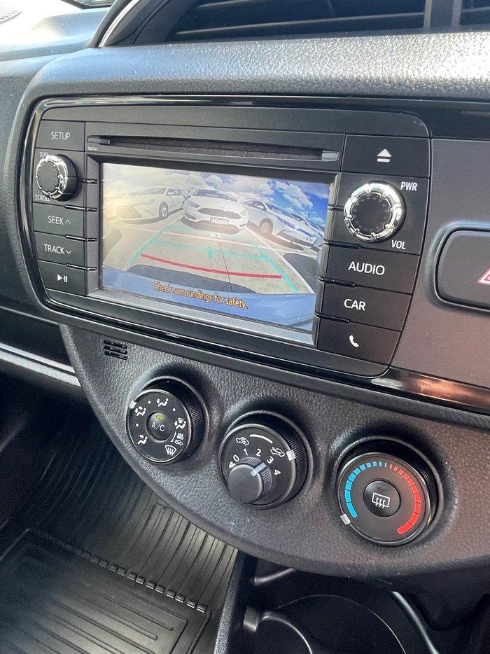 2017 Toyota Yaris SX NCP131R Silver