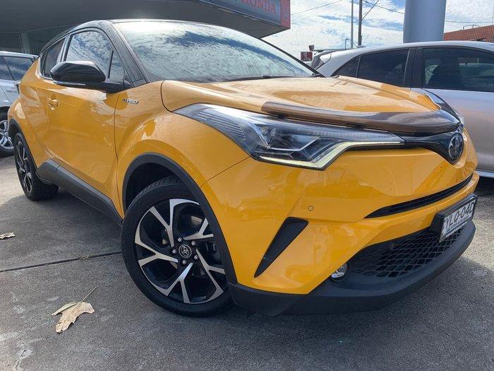 2017 Toyota C-HR Koba NGX50R AWD Yellow