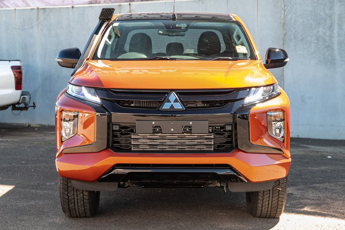 2021 Mitsubishi Triton GSR MR MY22 4X4 Dual Range Sunflare Orange with Black Roof