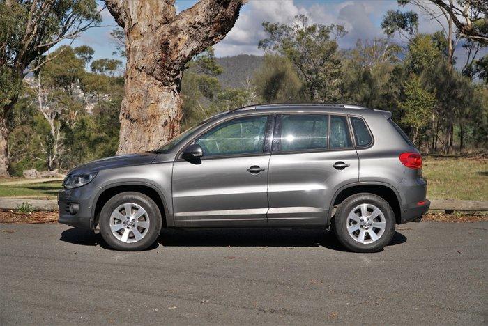 2014 Volkswagen Tiguan 132TSI Pacific 5N MY14 Four Wheel Drive Pepper Grey