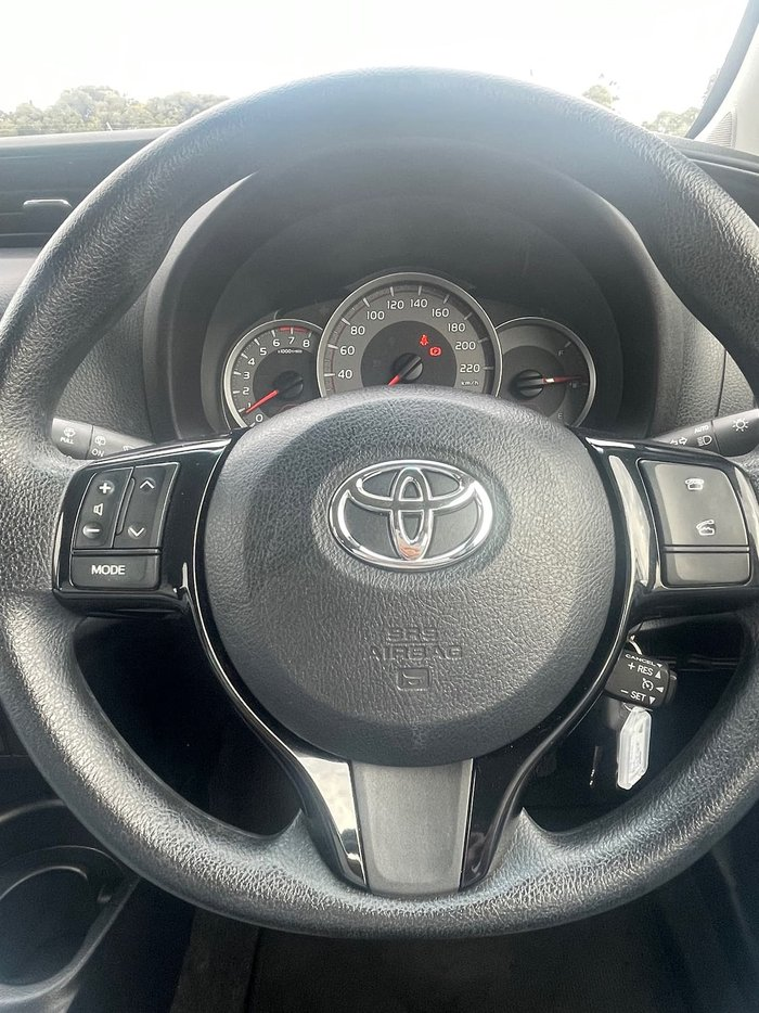 2018 Toyota Yaris Ascent NCP130R Blue