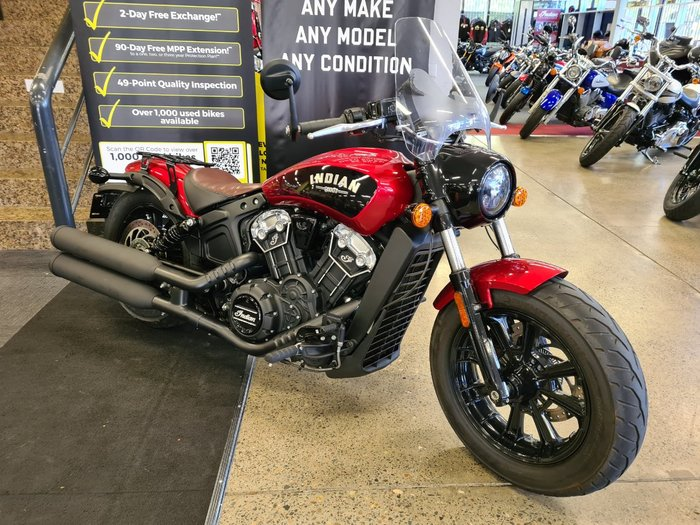 2019 Indian SCOUT BOBBER RED Red