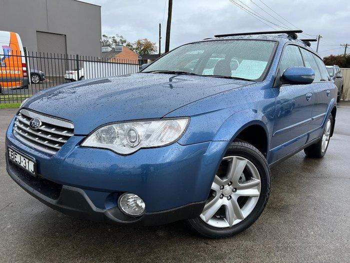 2007 Subaru Outback Premium Pack 3GEN MY08 AWD Blue
