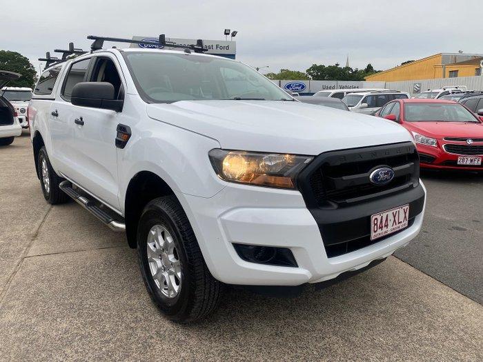 2016 Ford Ranger XL Hi-Rider PX MkII Frozen White