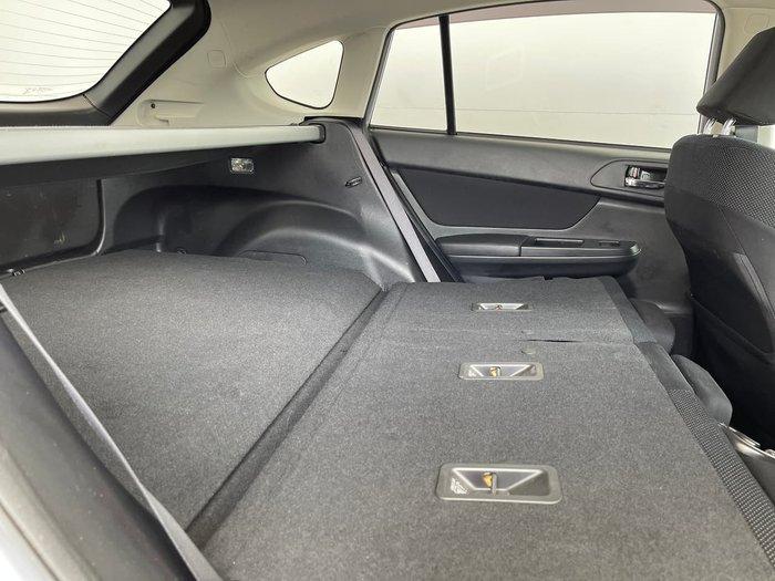 2013 Subaru XV 2.0i-L G4X MY13 AWD Silver