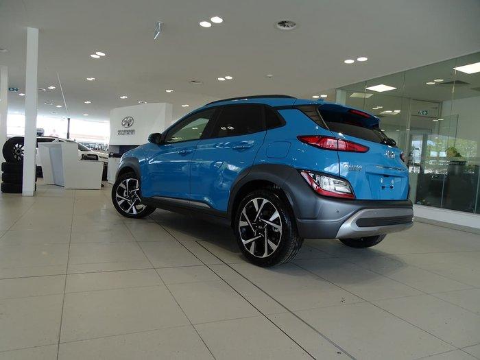2021 Hyundai Kona Highlander OS.V4 MY21 Blue