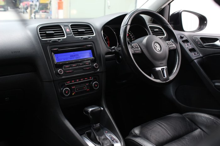 2009 Volkswagen Golf 118TSI Comfortline VI MY10 Black