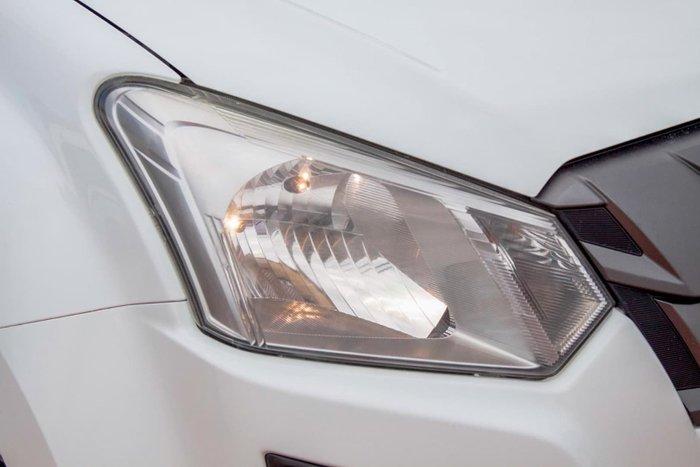 2017 Isuzu D-MAX SX MY17 4X4 Dual Range Splash White
