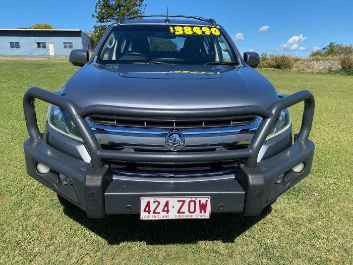 2016 Holden Trailblazer LT RG MY17 4X4 Dual Range Satin Steel Grey