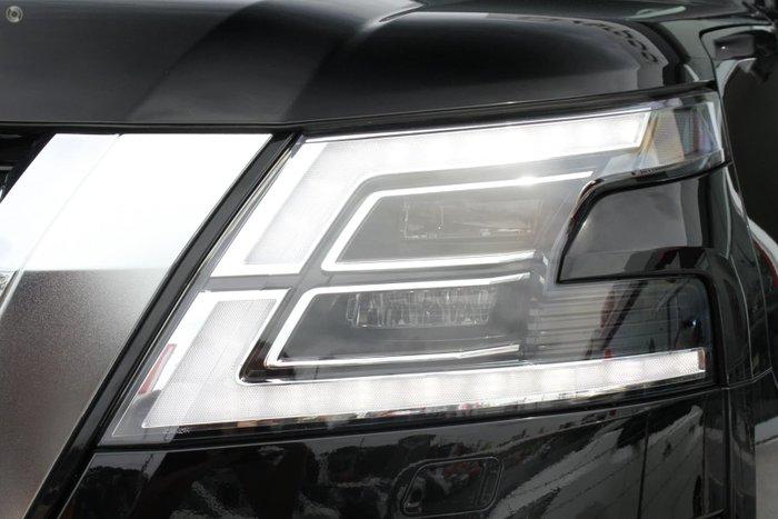 2021 Nissan Patrol Ti Y62 MY21 4X4 Dual Range Black Obsidian