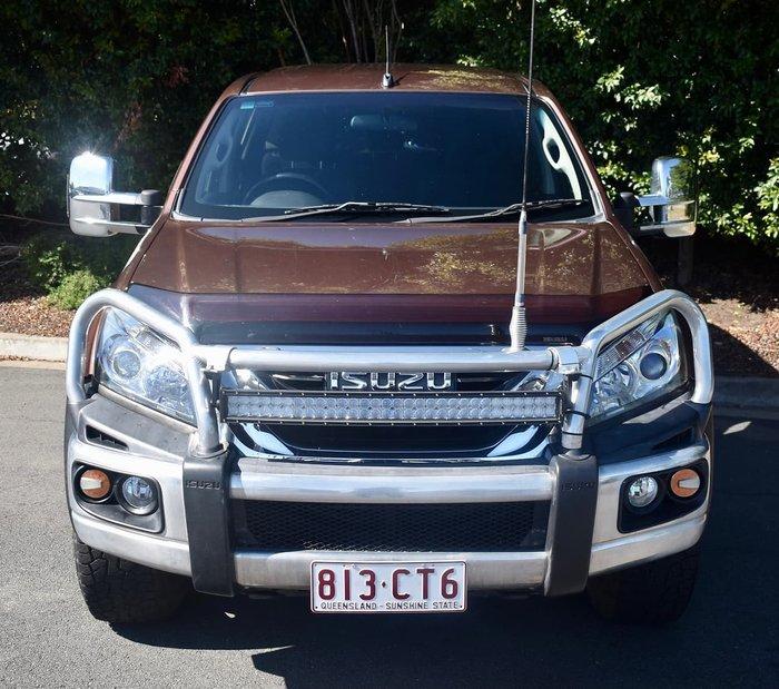 2015 Isuzu MU-X LS-U MY15 4X4 Dual Range Bronze