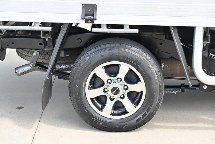 2017 Isuzu D-MAX SX MY17 Splash White