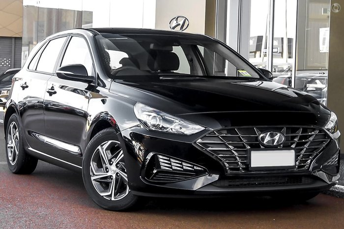 2021 Hyundai i30 PD.V4 MY22 Black