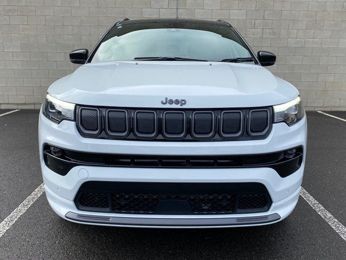 2021 Jeep Compass S-Limited M6 MY21 4X4 On Demand Bright White