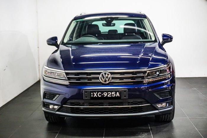 2018 Volkswagen Tiguan 162TSI Highline 5N MY19 Four Wheel Drive Atlantic Blue