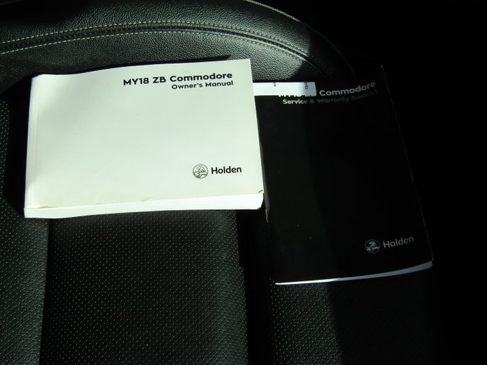 2018 Holden Calais V ZB MY18 AWD Nitrate Silver