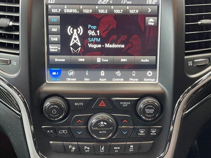 2018 Jeep Grand Cherokee SRT WK MY18 4X4 On Demand White