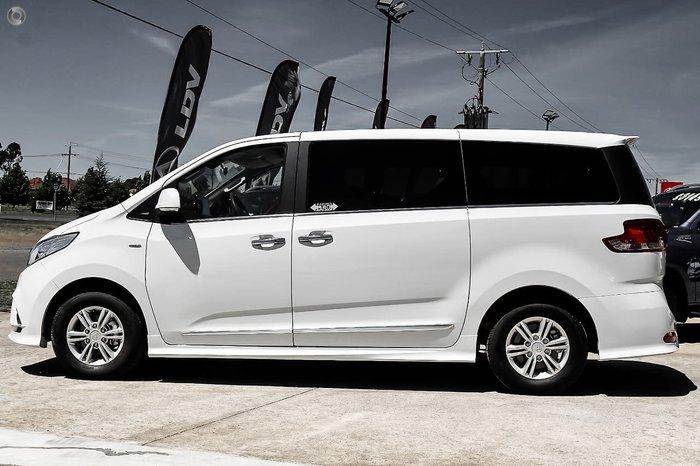 2021 LDV G10 Executive SV7A Drive Type: Blanc White