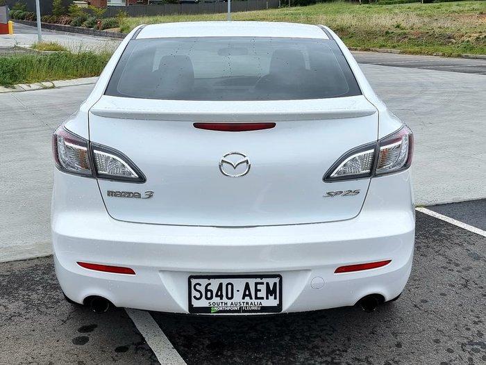2009 Mazda 3 SP25 BL Series 1 White