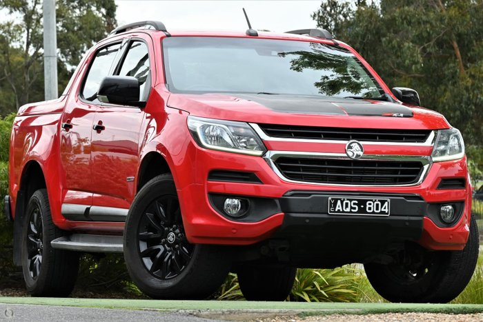 2017 Holden Colorado Z71 RG MY18 4X4 Dual Range Absolute Red
