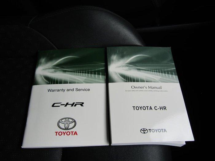 2017 Toyota C-HR NGX50R AWD Atomic Rush