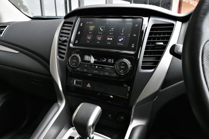 2019 Mitsubishi Pajero Sport GLS QE MY19 4X4 Dual Range White