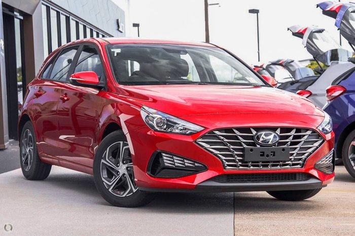 2021 Hyundai i30 PD.V4 MY22 Red
