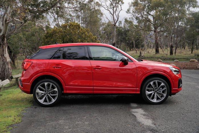 2021 Audi Q2 35 TFSI GA MY21 Tango Red
