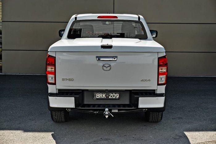 2021 Mazda BT-50 XTR TF 4X4 Dual Range White