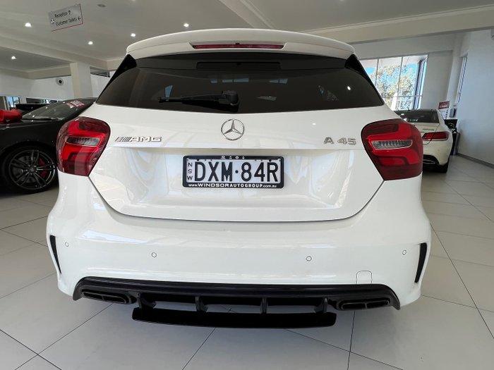 2017 Mercedes-Benz A-Class A45 AMG W176 Four Wheel Drive Cirrus White