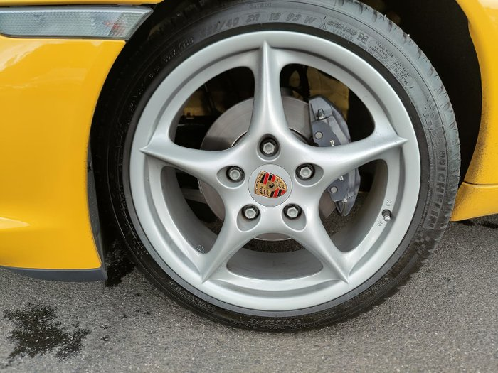 2004 Porsche Boxster 986 MY04 Yellow